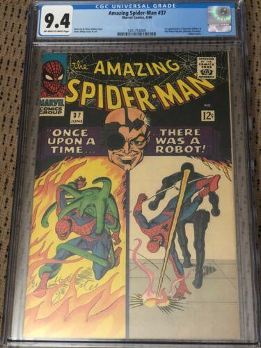 Amazing Spiderman 37 CGC 94 1st Norman Osborn