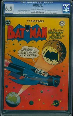 Batman 59 CGC 65 OWW Golden Key DC 1st Appearance Deadshot Suicide Squad LK