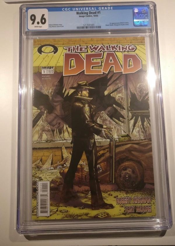 The Walking Dead 1 2003 CGC 96 NM WP