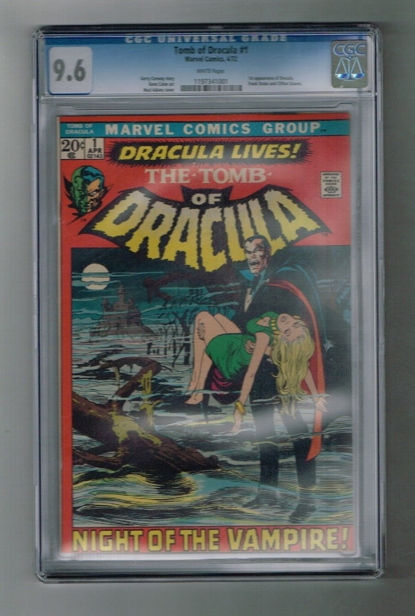TOMB OF DRACULA 1 CGC Graded 96 1st Dracula in Marvel continuity