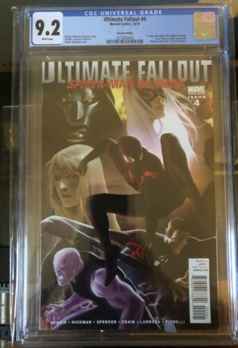 Ultimate fallout 4 cgc 92 White Pages  1st Miles Morales Djurdjevic Variant