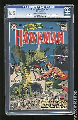 Brave and the Bold 1955 1st Series DC 34 CGC 65 1346323017