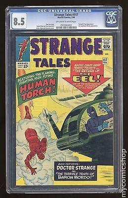 Strange Tales 19511976 1st Series 117 CGC 85 0902863001