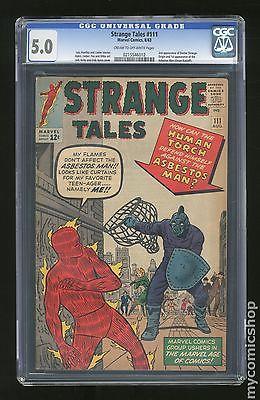 Strange Tales 19511976 1st Series 111 CGC 50 0215546012