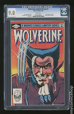 Wolverine 1982 Limited Series 1 CGC 98 0255400022