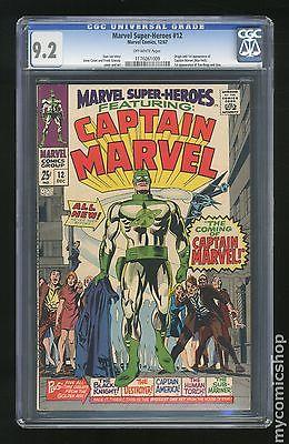 Marvel Super Heroes 1967 1st Series 12 CGC 92 1176061009