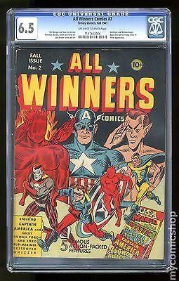All Winners Comics 1941 2 CGC 65 1197662006