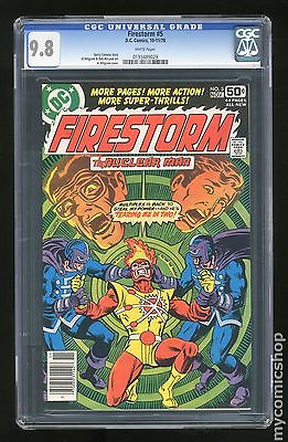 Firestorm 1978 1st Series 5 CGC 98 0193489029