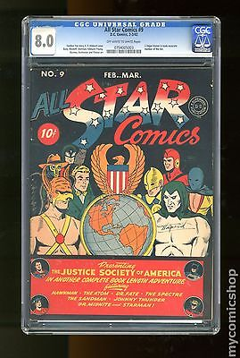 All Star Comics 19401978 9 CGC 80 0754005003