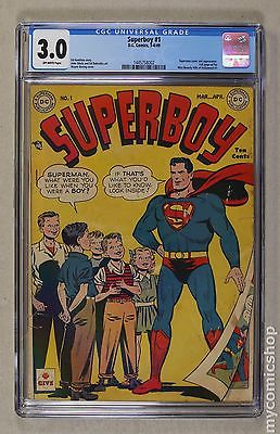 Superboy 19491979 1st Series DC 1 CGC 30 1445758002