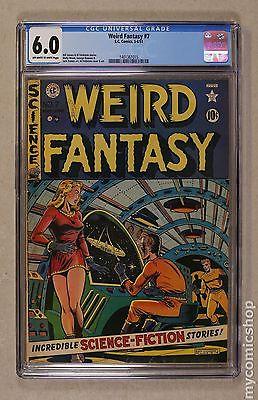 Weird Fantasy 1950 EC Comics 7 CGC 60 1401361015