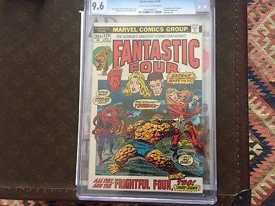 Fantastic Four 129 Dec 1972 Marvel CGC 96 1st Thundra  Inhumane  Bondage