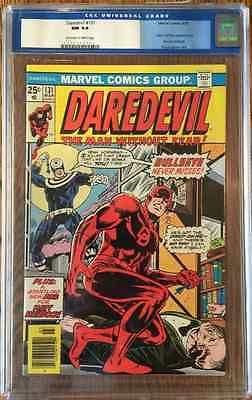 Daredevil 131 CGC 94 First appearance of Bullseye 1976