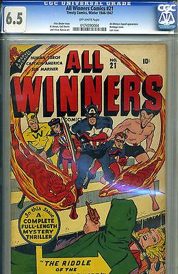 ALL WINNERS 21 CGC 65 UNIVERSAL