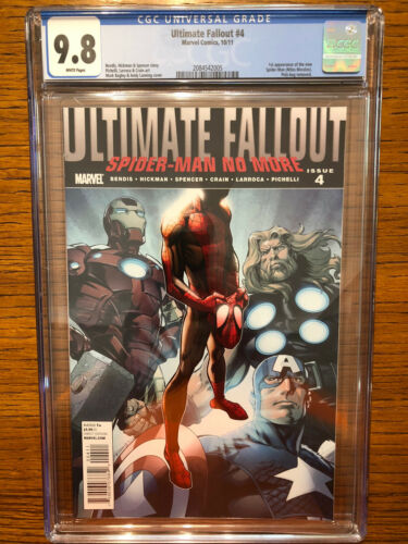 Ultimate Fallout 4 CGC 98  1st print  1st Miles Morales