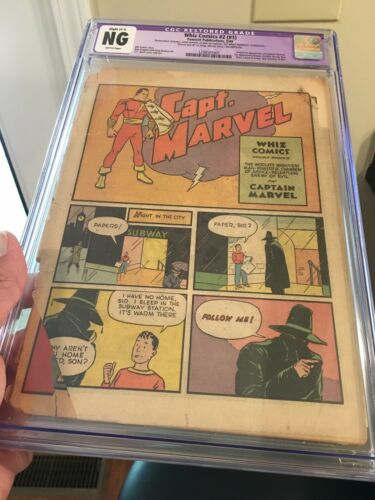Whiz Comics 2 1 CGC NG  Here Is A Chance To Own The First Captain Marvel