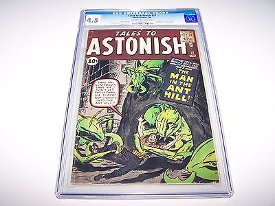 Tales to Astonish 27 CGC 45 CROW Looks Much Nicer  Key  1st App AntMan