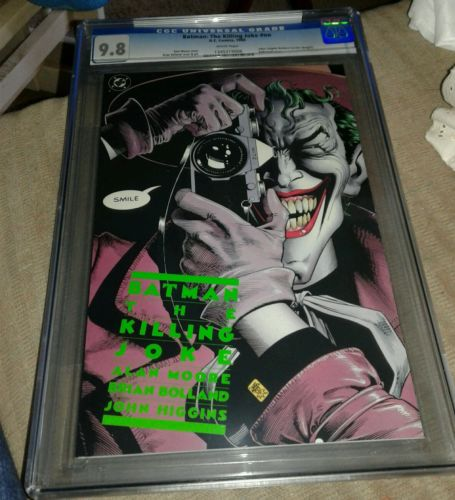 Batman THE KILLING JOKE Embossed Cover CGC 98 Alan Moore 1988 1st Print Batgirl
