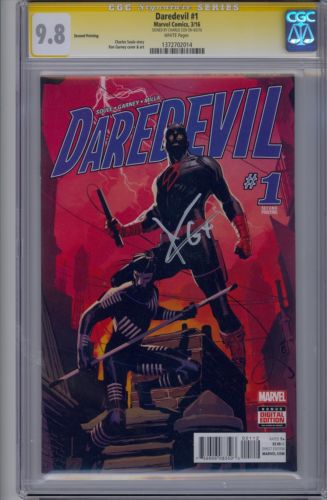 Charlie Cox Signed Daredevil 1 98 CGC Netflix
