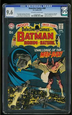 Detective Comics 400 CGC 961st MANBAT Neal Adams Batman Key issue 0192331001