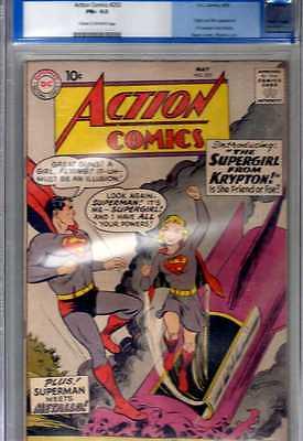 1959 Action Comics 252 CGC 65 FINE 1st Supergirl Classic Golden Age DC