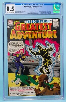 MY GREATEST ADVENTURE80 CGC 85 DC Comics DOOM PATROL 1st APPEARANCE  ORIGIN