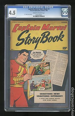 Captain Marvel Story Book 1946 1 CGC 45 0155299001