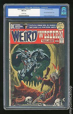 Weird Western Tales 1972 1st Series 12 CGC 94 0113517001