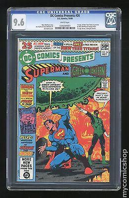DC Comics Presents 1978 DC 26 CGC 96 1346389001