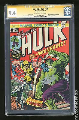 Incredible Hulk 19621999 1st Series 181 CGC 94 SS 1316547003