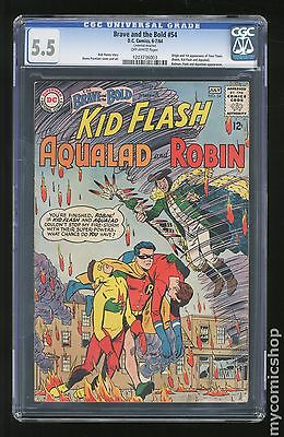 Brave and the Bold 1955 1st Series DC 54 CGC 55 1203736003