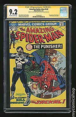 Amazing SpiderMan 1963 1st Series 129 CGC 92 SS 1316565007