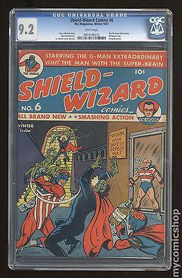 ShieldWizard Comics 1940 6 CGC 92 0915146012