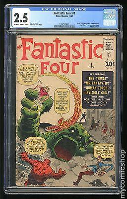 Fantastic Four 1961 1st Series 1 CGC 25 1397595001