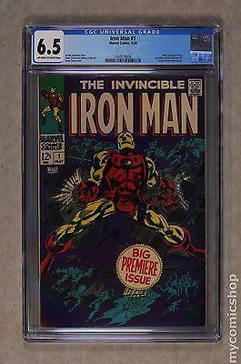 Iron Man 1968 1st Series 1 CGC 55 1350187010