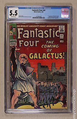 Fantastic Four 1961 1st Series 48 CGC 55 1355991006