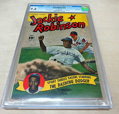 JACKIE ROBINSON 4 Highest Grade CGC 98  1950  Valued at 2750