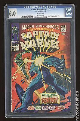Marvel Super Heroes 1967 1st Series 13 CGC 60 1162461009