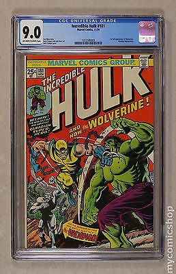 Incredible Hulk 19621999 1st Series 181 CGC 90 1212500003