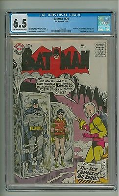 Batman 121 CGC 65 OWW pages Origin1st app Mr Zero Mr Freeze c12347