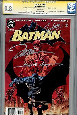 Batman 618 Hush Catwoman Superman Jim Lee Loeb Sinclair Williams SS CGC 98 608