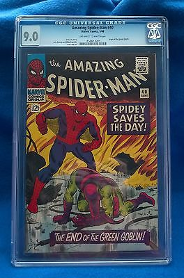 Amazing Spiderman  40 CGC 90 OWW pages VFNM