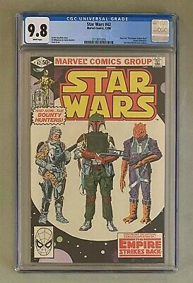 STAR WARS 42 Marvel Comics 1980 CGC 98 Part 4 of Empire Strikes Back ESB