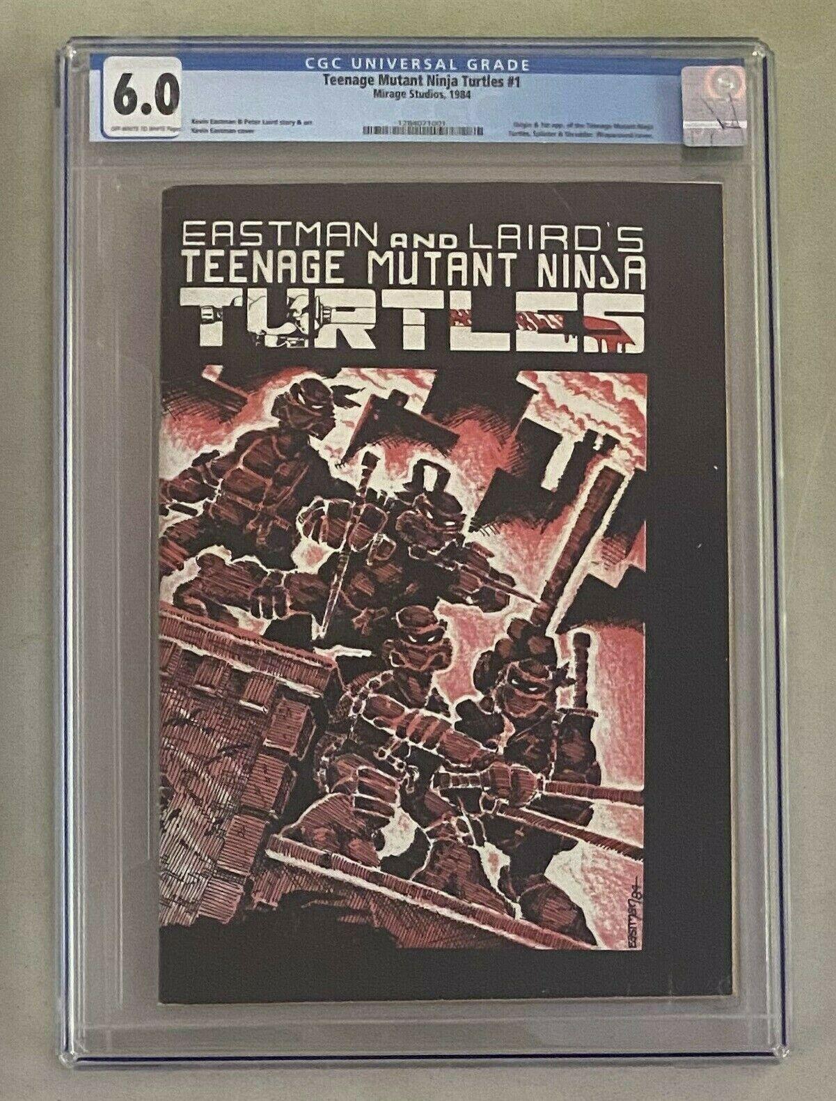 TEENAGE MUTANT NINJA TURTLES 1 Mirage Studios 1984 CGC 60 First Appearance