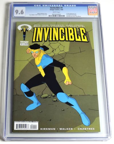 ESS0010 Image Comics INVINCIBLE 1  1st Full Appearance CGC 96 NM 2003