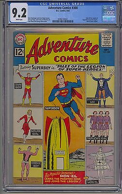 ADVENTURE COMICS 300 CGC 92 WHITE PAGES TALES OF THE LEGION OF SUPERHEROES MC