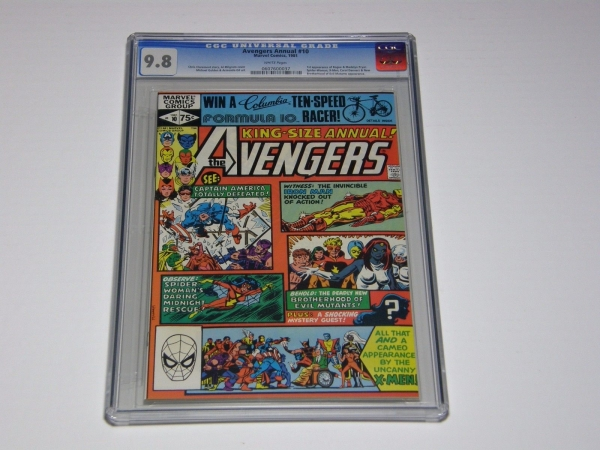 Avengers Annual 10 CGC 98 White Page 1st Rogue  Madelyn Pryor Bronze Age 1981
