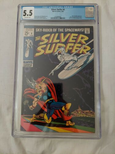 1969 SILVER SURFER 4 CGC 55  Thor Classic Cover