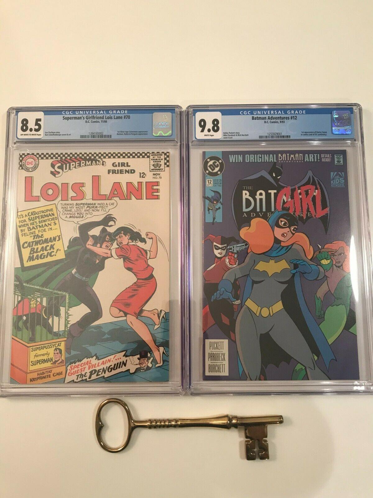 Batman Adventures 12 CGC 98  Supermans Girlfriend Lois Lane 70 CGC 85