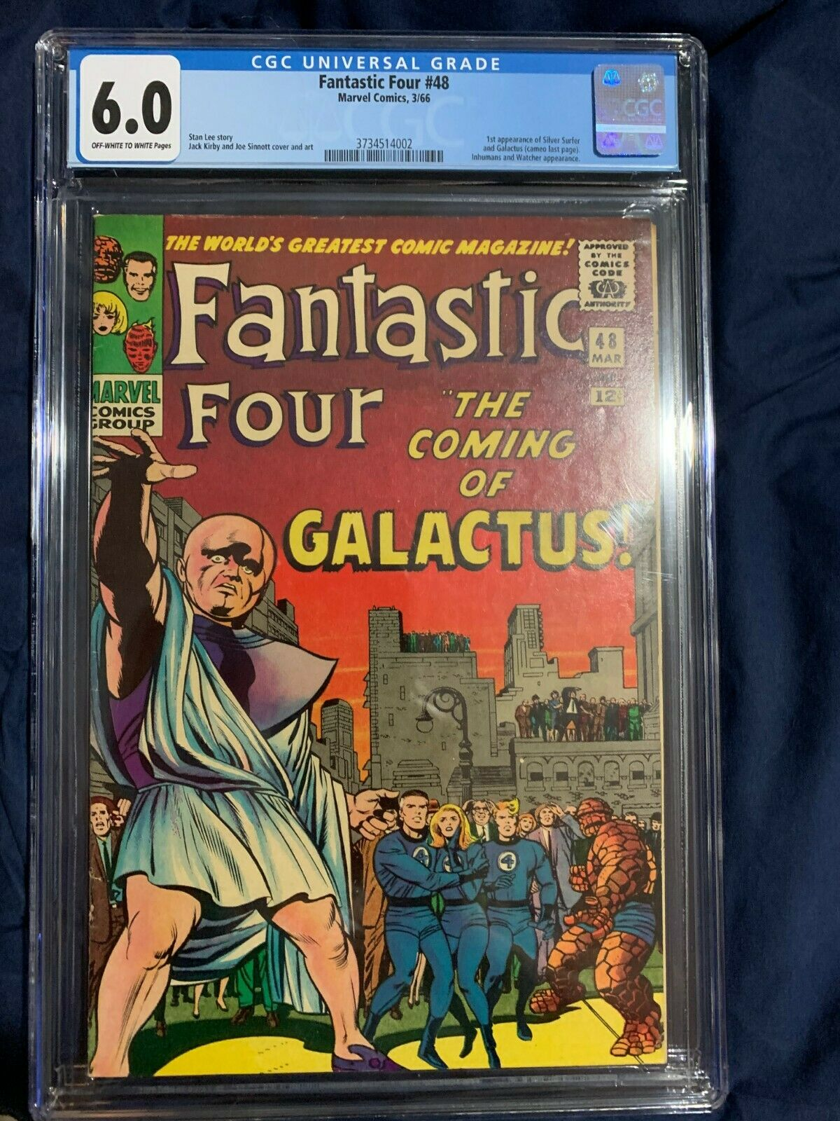 Fantastic Four 48 CGC 6 1st appearance of the Silver Surfer